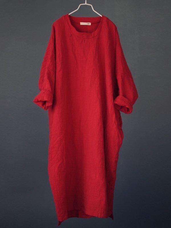 Винтажное, свободное платье : 4 цвета