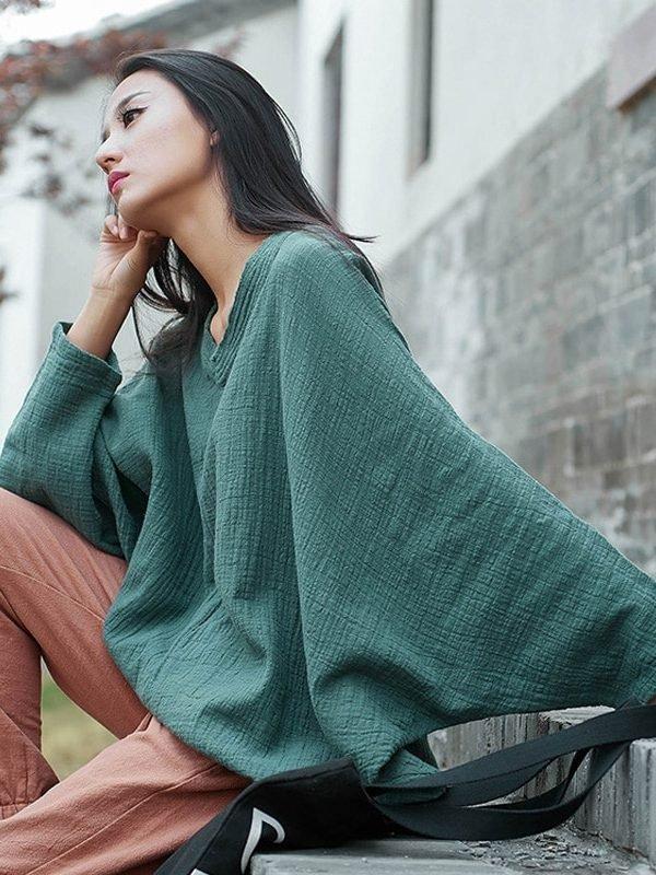 Легкая и свободная блузка: 3 цвета