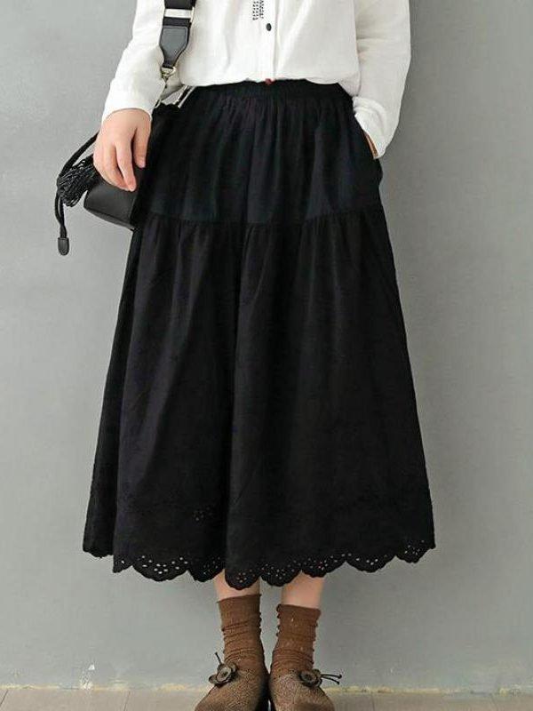 Винтажная юбка в ретро стиле : 4 цвета
