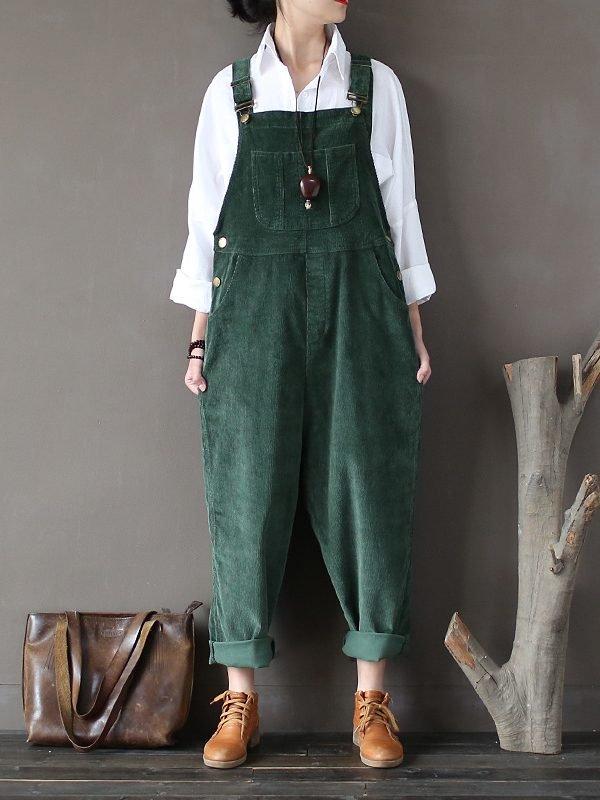 Теплый, джинсовый комбинезон с карманами : 3 цвета